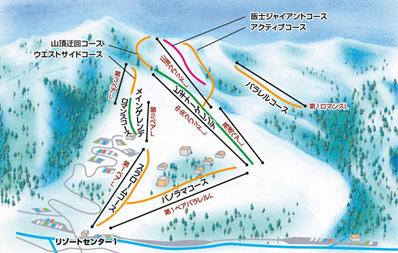 岩原スキー場 ゲレンデ情報