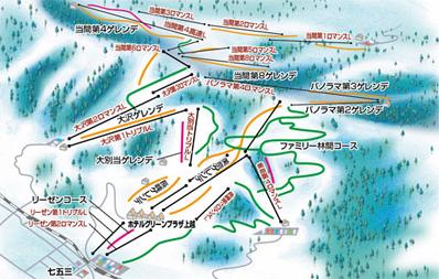 上越国際スキー場 ゲレンデ情報