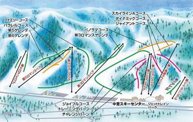 湯沢中里スキー場 ゲレンデ情報